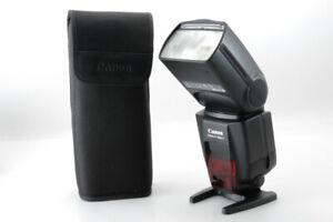 [Mint++]Canon Speedlight 580EX ii Shoe Mount Flash Strobe Light II From JAPAN