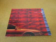 2000 Cadillac Eldorado ETC Touring Coupe sales brochure catalog literature