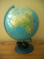 Vintage World Globe Lamp - Fully Functional tested