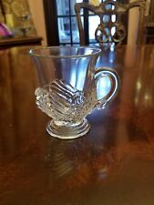 Cambridge Swan Punch Cup(s) #1221 Elegant Glass Excellent Condition