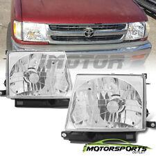 1997 1998 1999 2000 Toyota Tacoma Factory Style Chrome Headlights Pair