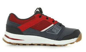 Running Shoes Childrens Salomon Outban Premium J, Red/Grey, Unisex, Size 37