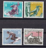 Liechtenstein 1955 postfrisch MiNr. 334-337  Sport