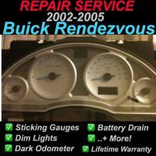 GM REPAIR SERVICE Buick Rendezvous Gauge Cluster REPAIR SERVICE 02 03 04 05