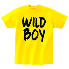 "Ansaveh ""Wild Boy"" Kids Round neck Statement Shirt- Choose Any Color"