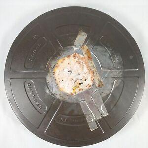 "Vintage Film Reel Tin Can - 15"" Round - 40mm Deep - Kodak - Display/Prop"