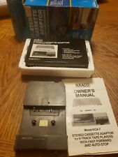 New ListingVintage (new) Kraco Stereo Cassette Adapter for 8-Track Tape Players Never Used