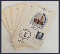 Philadelphia City Hall/S.Jersey Post Card Exhibition My Ephraim NJ-LOT 28 CARDS