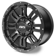4 Set 17X9 6x135 6x139.7 IWS 5006M Matte Black Wheel Rim Ford Chevy GMC Toyota