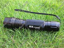 MX Power ML-103B 4W 395 nm Ultraviolet Radiations UV LED Lamp Flashlight Torch