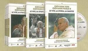 GIOVANNI XXIII GIOVANNI PAOLO II.LE VITE,STORIA,LA MESSA DI SANTITA'(COFANETTO)