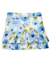NWT GYMBOREE MALIBU COWGIRL TIERED SKIRT SIZE 9 GIRLS FLORAL SKORT