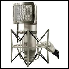 MXL V87 Low Noise Recording Condenser Microphone Inc's Shockmount  & Pop filter
