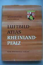 Luftbildatlas Rheinland-Pfalz 1970 Landeskunde 72 farbige Luftaufnahmen
