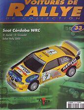 CAHIER AUTOMOBILE  Voitures de Rallye   SEAT CORDOBA WRC   10 pages