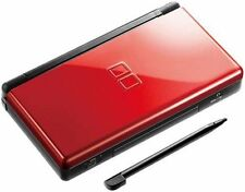 Nintendo DS Lite Red And Black System In Great Condition
