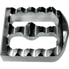 Serrated Brake Pedal Cover   Raw Aluminum  Joker Machine 08-58-2