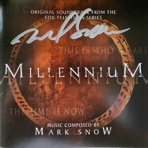 Millennium 2 CD Television Series Soundtrack / singed by Composer Mark Snow