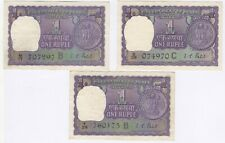 More details for 1968 india 1 one rupee bank notes | pennies2pounds