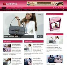 Premade Handbags Affiliate Website Business For Sale Make Money Online