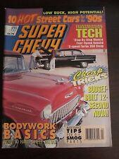 Super Chevy Magazine April 1992 Bodywork Basics Cheap Tricks No Label (BB)