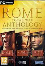 Rome Total War Anthology - PC DVD - New & Sealed