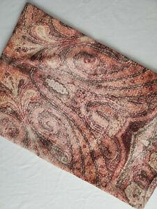 "Pottery Barn Angelo Printed Lumbar Pillow Cover 16"" X 26"" Warm Paisley 9183172"