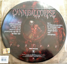 Cannibal Corpse – Torture Label: Back On Black – LP PICTURE  NUOVO / NEW