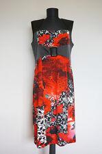 Joseph Ribkoff Floral Dress, Size:US 12, UK 14, D 40