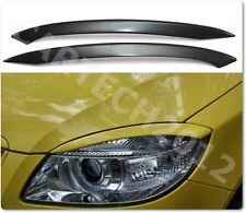 SKODA FABIA 5J (2007-2010) Headlights Eyebrows  ABS PLASTIC, tuning