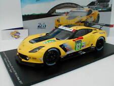 Spark 18S327 -  Chevrolet Corvette C7.R GTE No.63 Le Mans 2017 J. Magnussen 1:18