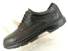 Timberland Summit Black Grain Leather Plain Toe Derby Oxford Men's Size 14
