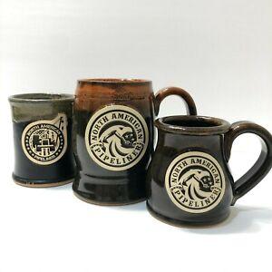 Sunset Hill Stoneware Handmade Coffee Mug North American Pipeliner