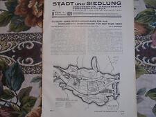 1929 Beilage Bauzeitung 11 / Trier Moselbecken