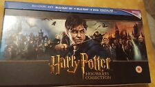 Harry Potter Hogwarts Collection Blu-Ray + Dvd  Box Set missing documentry disks