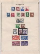 A0945: Better Ireland Stamp Collection; CV $190+