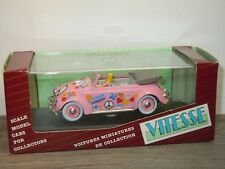 VW Volkswagen Beetle Convertible Hippy Style 1949 - Vitesse 1:43 in Box *34395