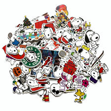 50 PCS Snoopy Peanuts Stickers Set for Hydro Flasks, Laptops - USA Seller