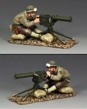 KING AND COUNTRY WW2 US Sitting Machine Gunner D Day DD226