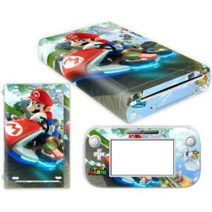 SUPER MARIO PROTECTOR SKIN STICKER COVER DECAL WRAP VINYL  FOR NINTENDO WII U