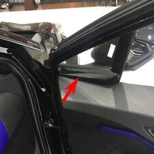 Carbon Fiber Style A Pillar Bottom Cover Trim For Toyota C-HR CHR 2016 2017 2018