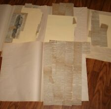 New listing Huge Lot Civil War Clips March 1862 Merrimac Monitor Cumberland Burnside & More