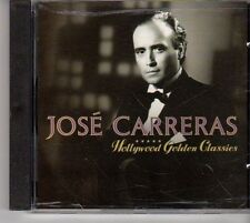 (EV359) Jose Carreras, Hollywood Golden Classics - 1991 CD