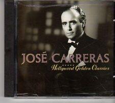(EV359) Jose Carreras, Hollywood Golden Classics - 1991 CD