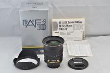 """""""MINT"""" Nikon AF-S DX ZOOM NIKKOR 12-24mm F4G IF ED Lens for F Mount #180817n"""