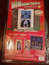 "WoWindow Poster "" MANGER & MAGI COMBO "" Back-lit Window Decoration"