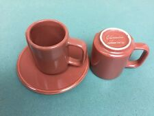Claudia Shuride set of 3 Pieces capuccino mugs and saucer