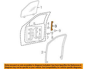 OEM Ford Explorer Weatherstrip Front Passenger Door 2002-2010 5L2Z78222A00AA