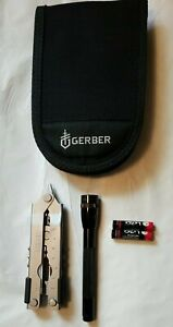 Gerber® MP600 Multitool Flashlight Combo w/ Pouch