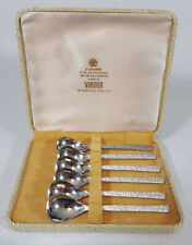 Boxed Viners Studio set of 6 coffee spoons made in Sheffield England